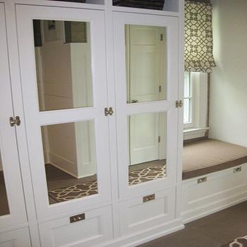 Built In Banquette Contemporary Kitchen Sally