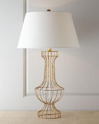 Barrett gold open wire lamp greentooth Images