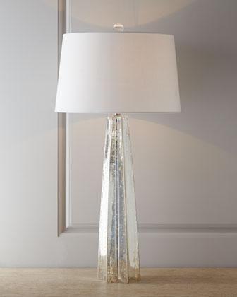 Regina Andrew Design Mercury Glass Star Lamp