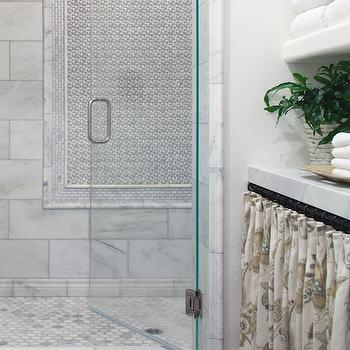 Hex Marble Shower