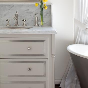 Benjamin Moore Revere Pewter - Traditional - bathroom - Benjamin Moore Revere Pewter - 1 Plus 1 ...