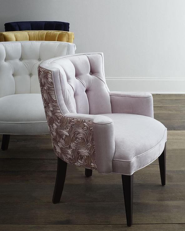 Modern Tufted Accent Chair Minimalist