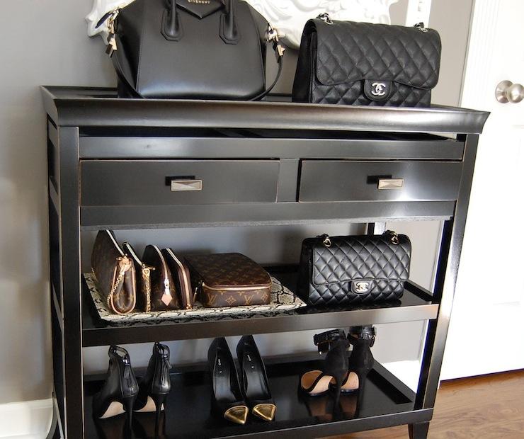 90dead01c50e Louis Vuitton Eva Clutch - Transitional - bedroom - Benjamin Moore ...