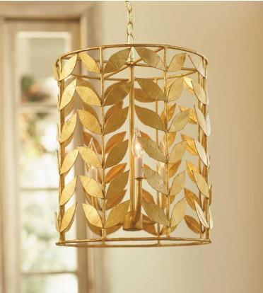 Gold vine leaf chandelier mozeypictures Choice Image