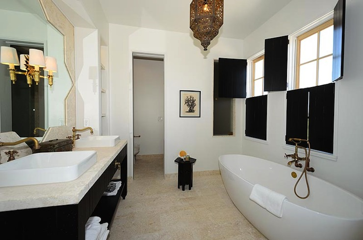 Moroccan Bathrooms Mediterranean Bathroom Alys Beach