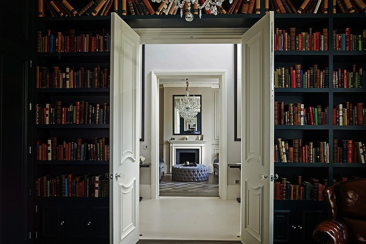 Ceiling Bookshelf floor to ceiling bookcase design ideas