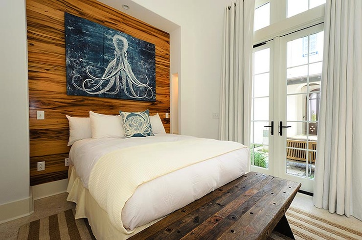 Octopus triptych art cottage bedroom alys beach for Art as decoration