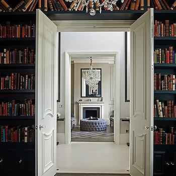 Built In Bookshelves, Transitional, den/library/office, 1st Option