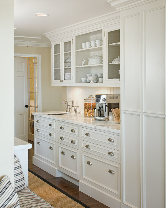 Built In Kitchen Pantry Ideas: Butlers Pantry Coffee Machine Design Ideas