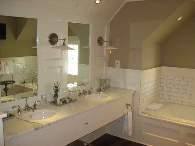 L Shaped Bathroom Vanity Design Ideas  DecorPad