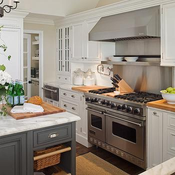 Cooktop Shelf, Transitional, kitchen, Curtis and Windham