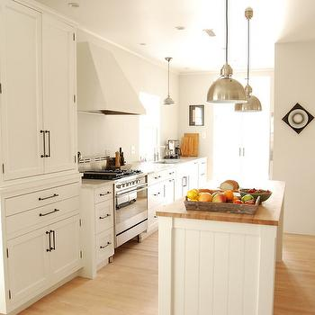 White Kitchen Cabinets with Oil Rubbed Bronze Pulls, Transitional, kitchen, KItchen Lab