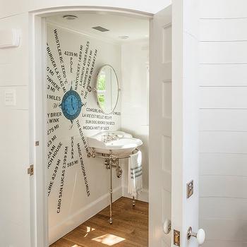 Hidden bathroom door design ideas for Powder room door size