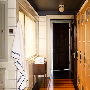 Locker Room Style Bathroom Design Ideas