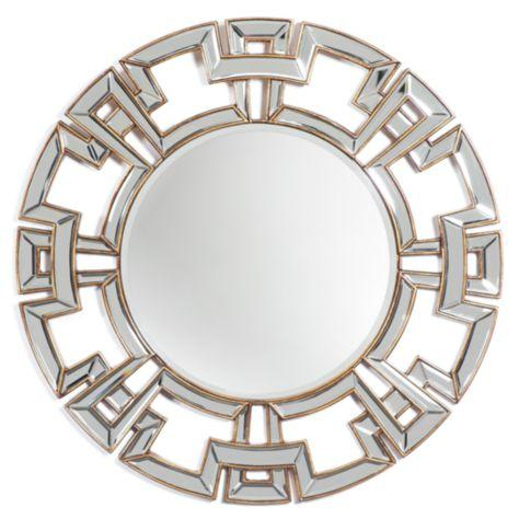 Pierre Geometric Border Mirror