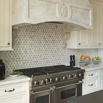 Quilted Tiles, Transitional, kitchen, Berkley Vallone