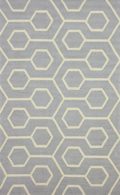 Gray Geometric Rug Rugs Ideas