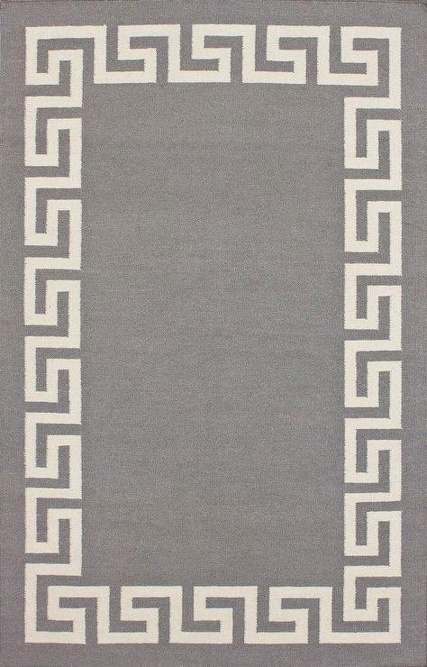 Tuscan Monticello Flatwoven Grey Rug Rugs Usa