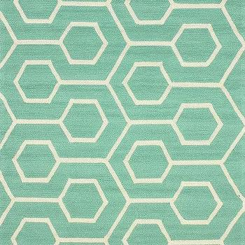 Hacienda Outdoor Trellis Seafoam Rug, Rugs USA