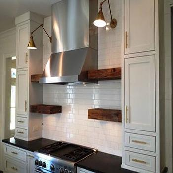 Kitchen Cabinets with Brass Hardware, Transitional, kitchen, t Olive Properties