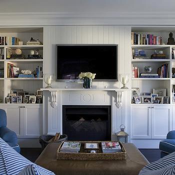 fireplace bookshelves design ideas rh decorpad com