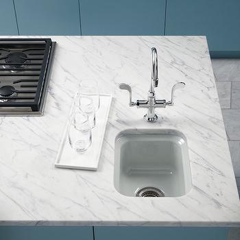 K2832-0 Garamond Undermount Style Bathroom Sink - White