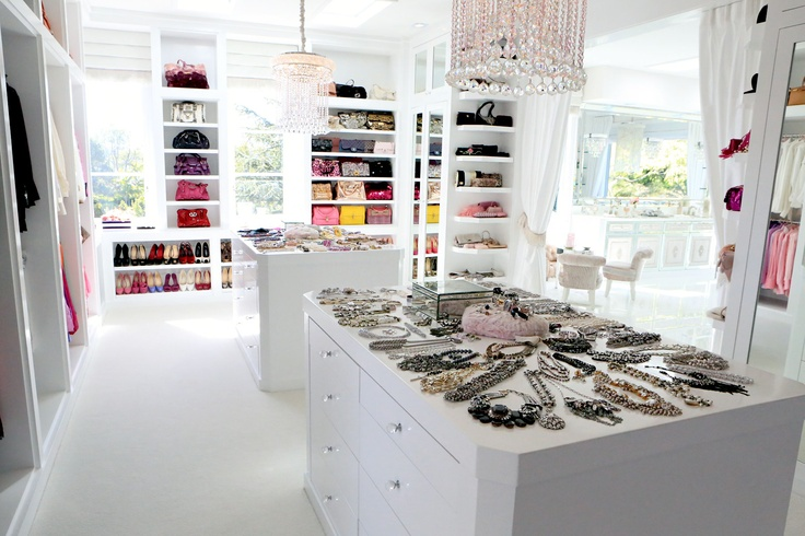 Closet islands transitional closet bravo tv Lisa vanderpump home decor for sale