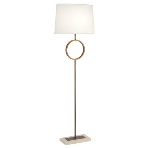 Collection Brass Circle Floor Lamp
