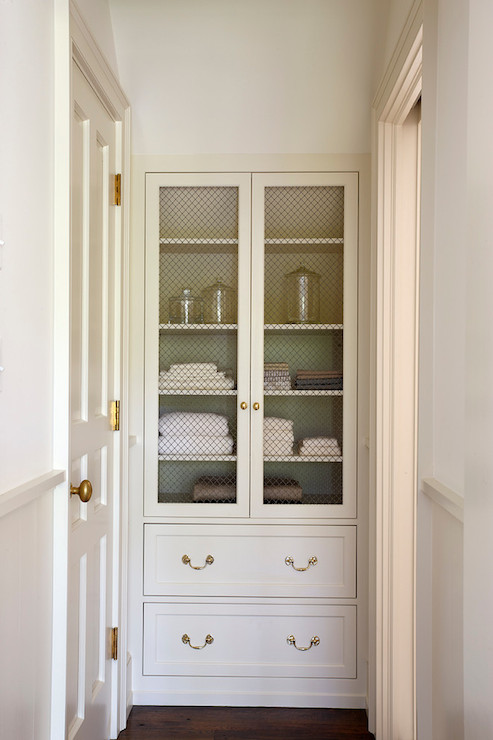 hallway linen cabinet design ideas. Black Bedroom Furniture Sets. Home Design Ideas