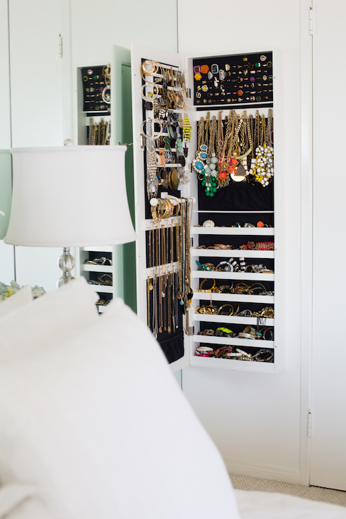 Hidden Jewelry Cabinet Contemporary Closet The Every