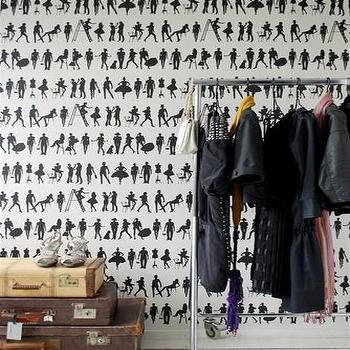 Fashion Wallpaper design by Ferm Living, Burke Decor