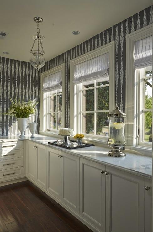 White Dove Cabinets Contemporary Kitchen Benjamin