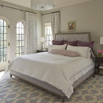 Lavender Bedroom, Transitional, bedroom, Benjamin Moore Gray Owl, Martha O'Hara Interiors