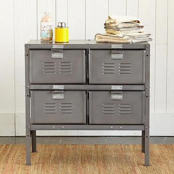 Old School Locker Cabinet, Robert Redford's Sundance Catalog
