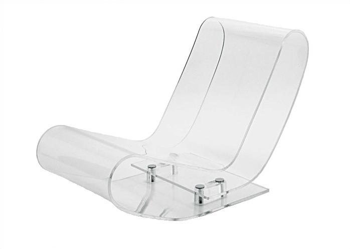 kartell lcp acrylic chaise lounge chair. Black Bedroom Furniture Sets. Home Design Ideas