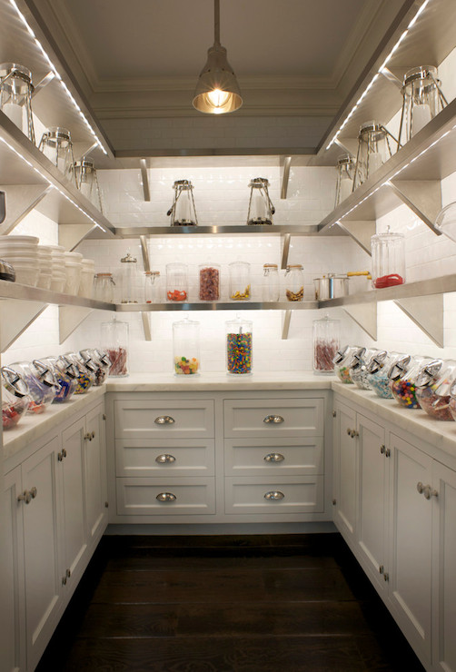 Kitchen Pantry Ideas - Transitional - kitchen - East End ...