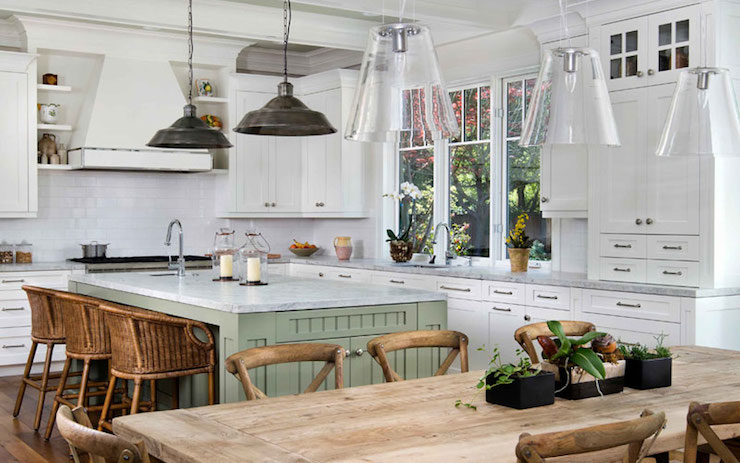 Farmhouse Kitchen Cottage Markay Johnson