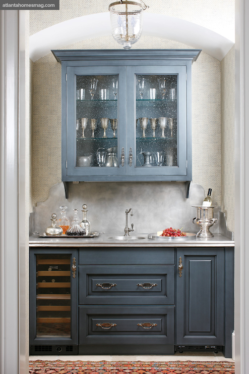 Gray Paneled Fridge Design Ideas