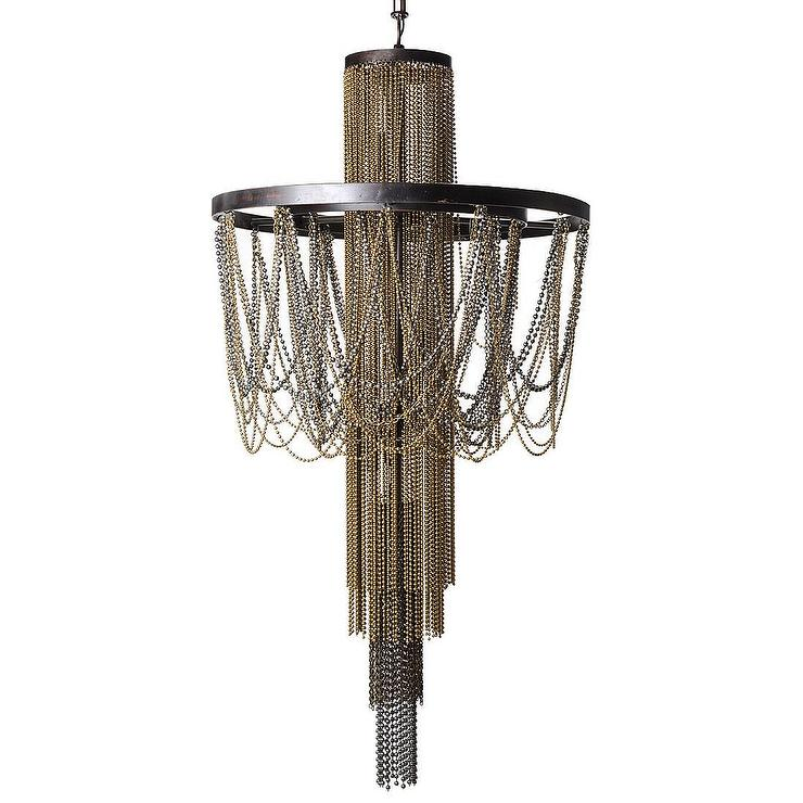 Lighting Tiered Chain Chandelier – Crystal Chandelier Chain