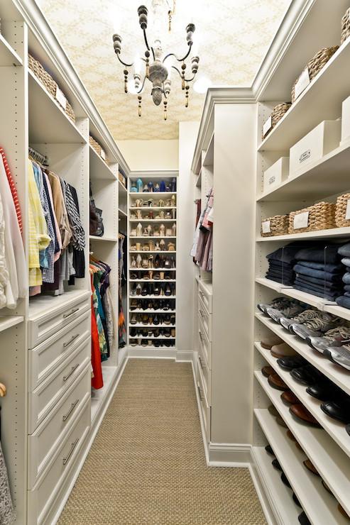 Closet Ideas Transitional Closet Organized Living