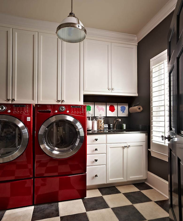 laundry room ideas - contemporary - laundry room