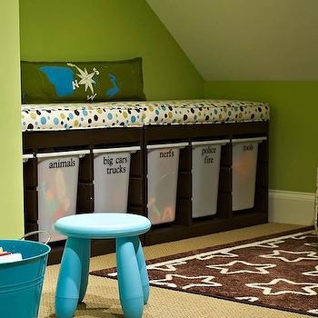 Toy Storage Ideas, Contemporary, boy's room, Traci Zeller Designs