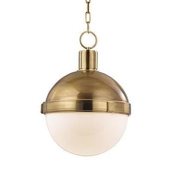 Hudson Valley Lighting Lambert 1 Light Pendant, Wayfair