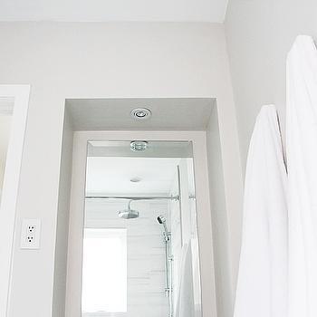 Benjamin Moore Classic Gray, Modern, bathroom, Benjamin Moore Classic Gray, Aubrey & Lindsay