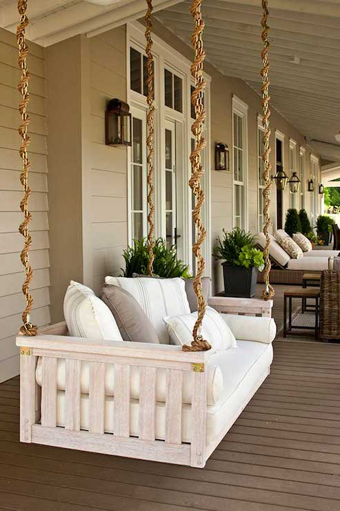 Porch Swing Cottage Deck Patio Sherwin Williams Intellectual