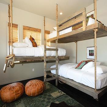 Suspended Beds, Cottage, boy's room, Alys Beach