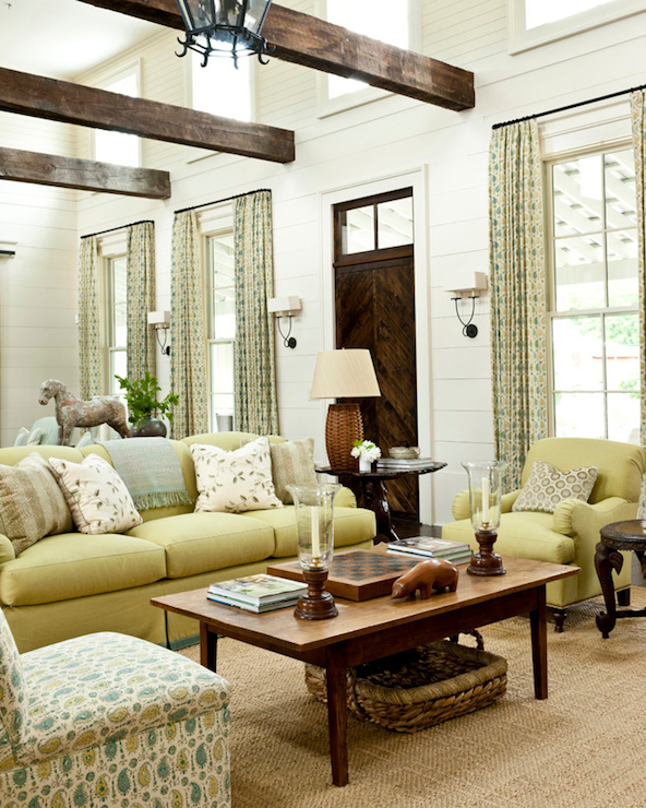 Southern Living Living Rooms: Long Living Room
