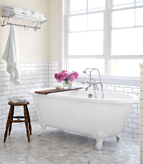 Shabby Chic Bathroom Country Living