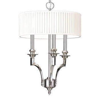 Hudson Valley Lighting Mercer 3 Light Drum Pendant, Wayfair