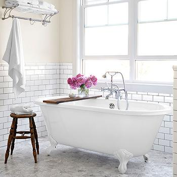 Shabby Chic Bathroom, Country, bathroom, Country Living